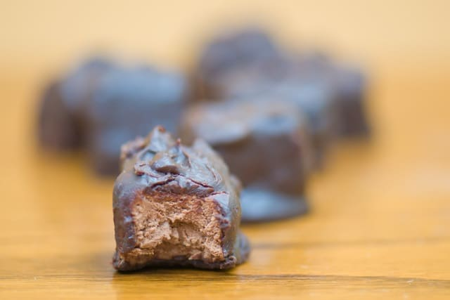Namely Marly's recipe for knock-your-socks off Vegan Homemade Three Musketeers Bars.