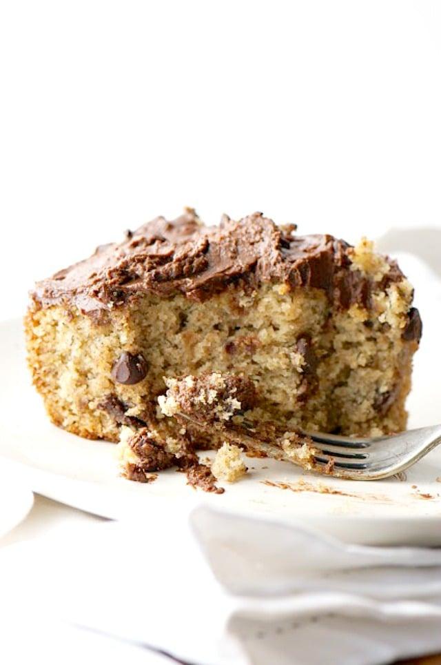 Chunky Monkey Vegan Cake