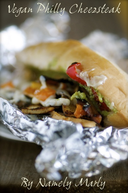 Vegan Philly Cheezsteak is another vegan version of America's Favorite Sandwiches!