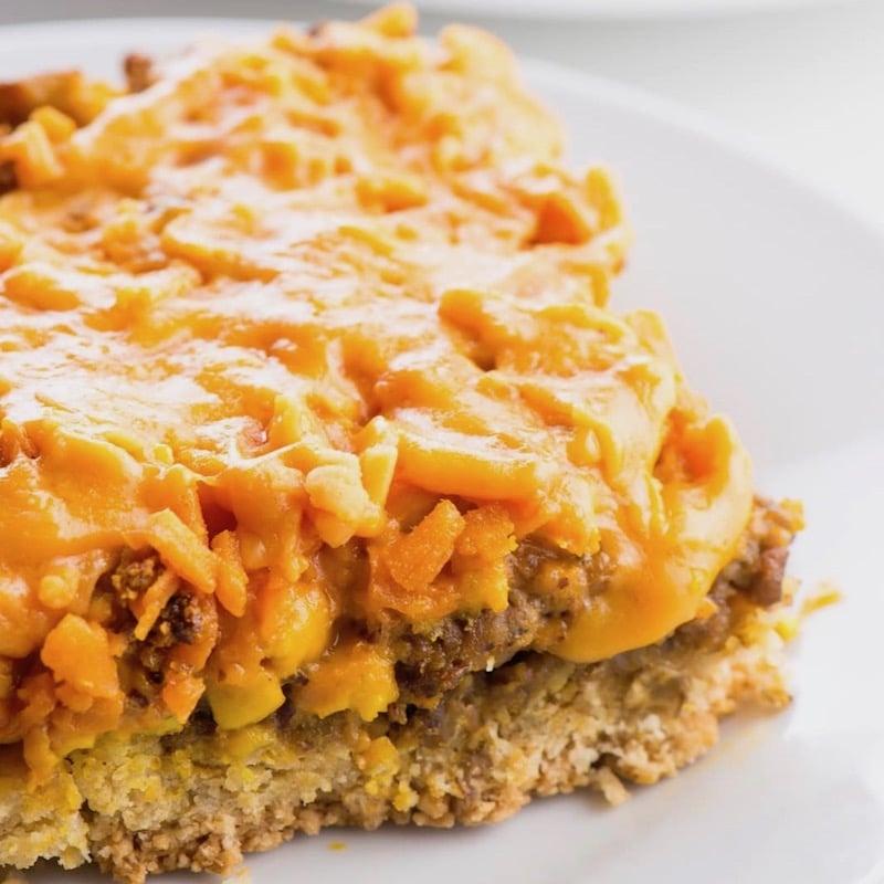 Vegan Breakfast Casserole With Biscuit Crust