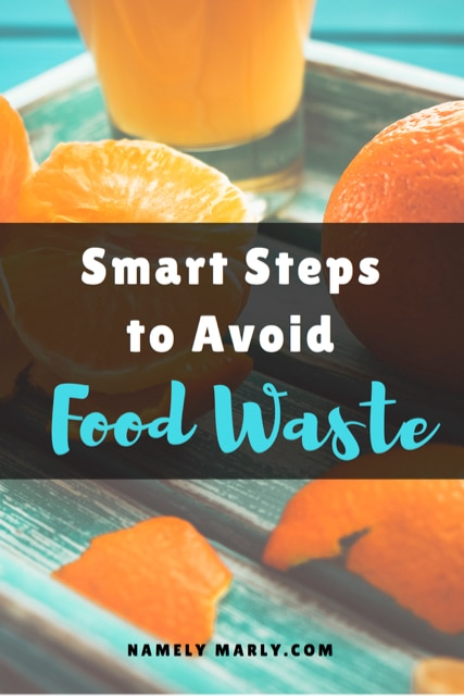 Smart Steps to Avoid Food Waste. Use this tips to reduce your food waste and create a more sustainable life! #foodwaste
