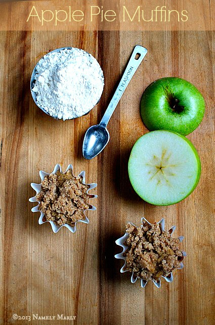 Create Happy Fall memories with these Apple Pie Muffins (Vegan and gluten-free recipes provided).