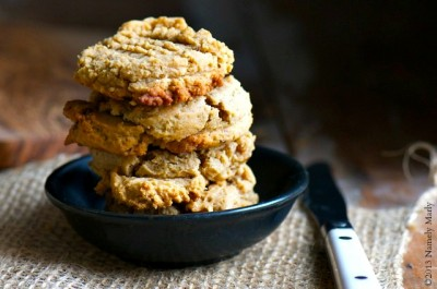 Vegan Peanut Butter Cream Cheese Cookies