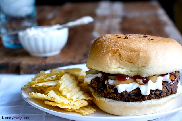 Red Beans & Rice Cajun Veggie Burger