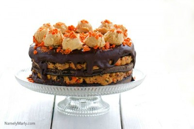 Here's to celebrating April Birthdays with awesome vegan cake!