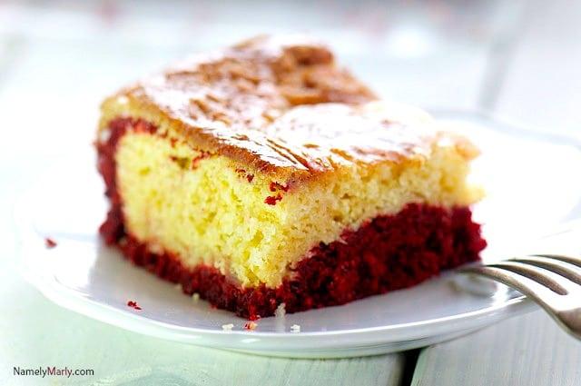 Pineapple Red Velvet Dessert Bars
