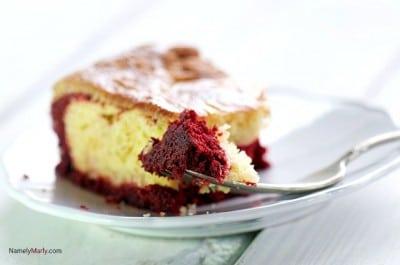 Pineapple Red Velvet Cake Bars