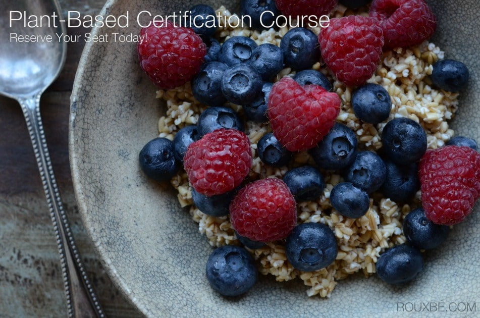 Rouxbe Online Plant-Based Certification Course