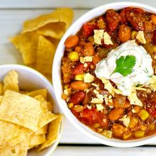 Easy Peasy One Pot Taco Soup Recipe