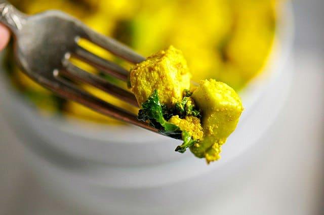 Avocado Kale and Tofu Scramble7