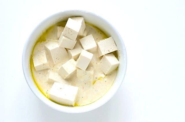 Crispy Orange Tofu