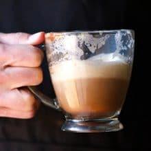 Tea Infused Hot Chocolate