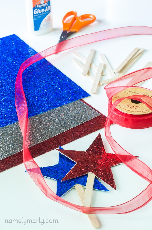 DIY Fourth of July Table Toppers