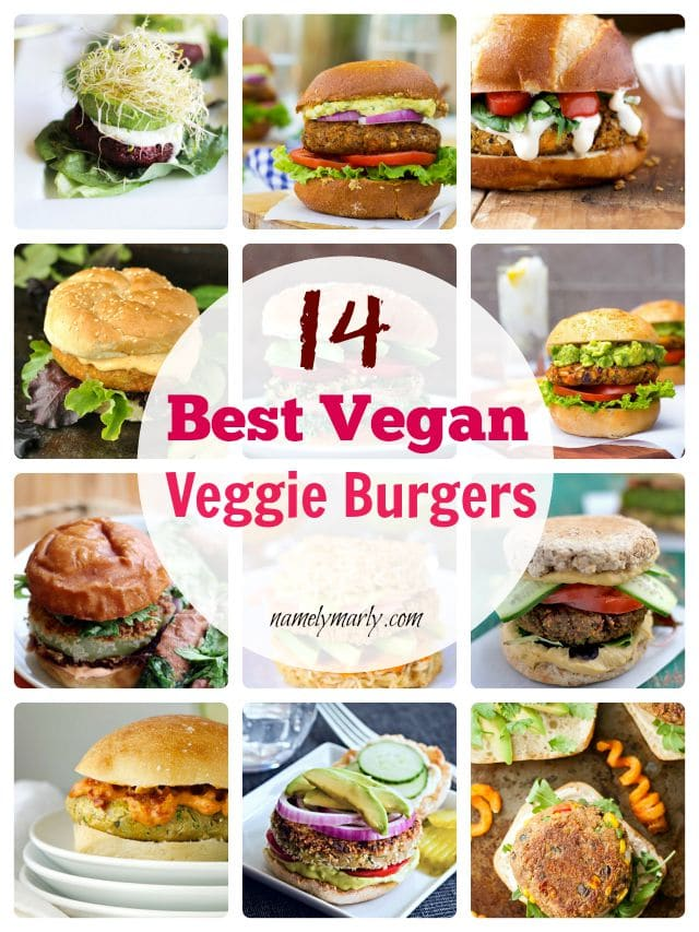 14 Best Vegan Veggie Burgers just in time for Labor Day weekend!