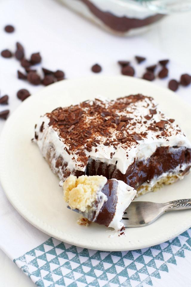 Vegan Chocolate Dessert Pie