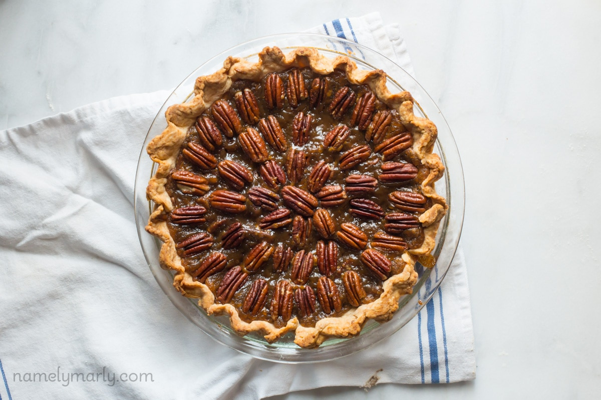 Vegan Pecan Pie for Vegan Pie Week