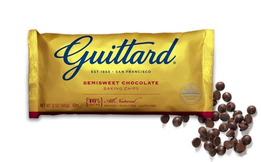 The Namely Marly Dairy-Free Chocolate Chip Guide includes Guittard Semi-Sweet Chocolate Chips