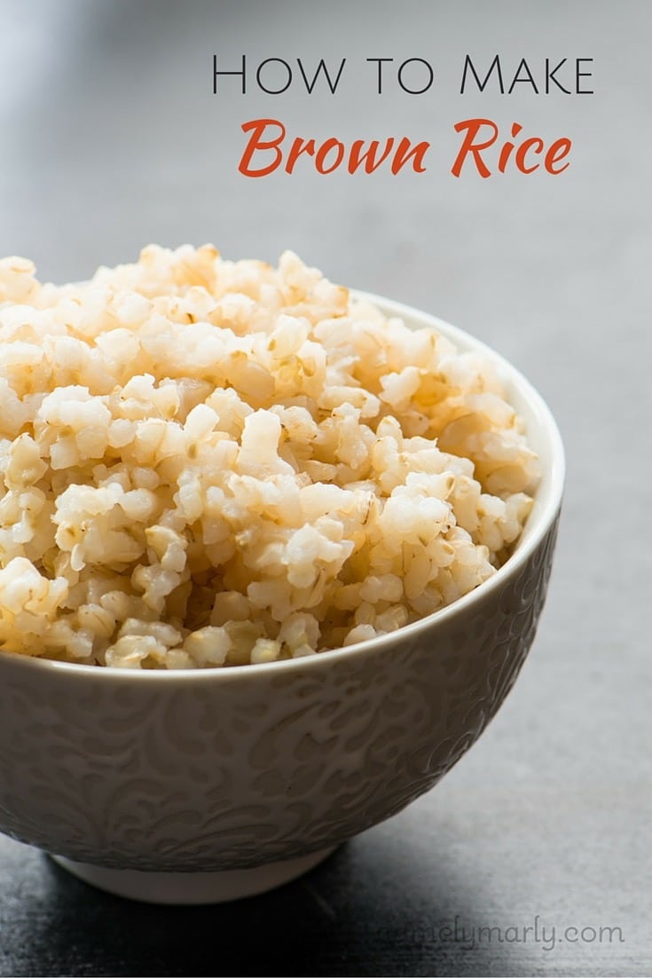 How To Make Brown Rice, A Stepbystep Guide On How To