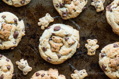 Teddy Graham Chocolate Chip Cookies