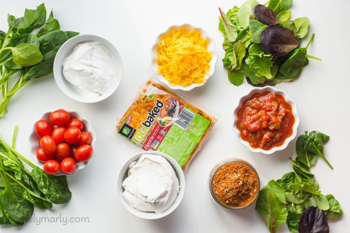 Delicious and dreamy Vegan Taco Dip