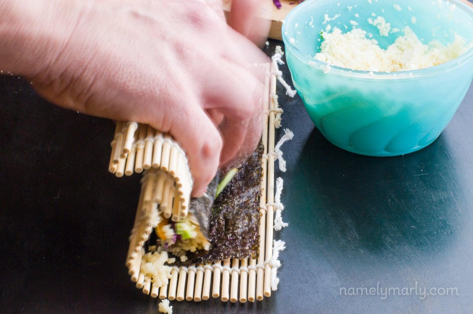 Vegan Sushi Rolls recipe