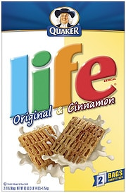 Life Cereal is a listed as an Accidentally Vegan Product on the Namely Marly site