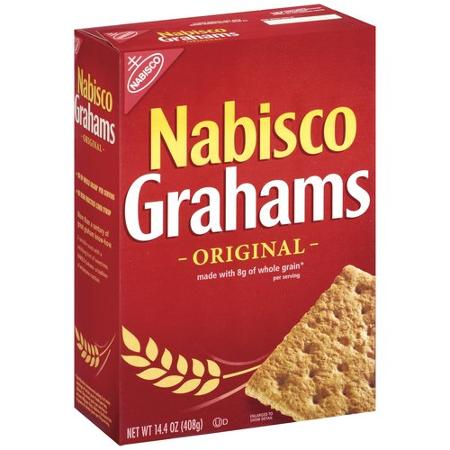 Nabisco Graham Crackers are listed as an accidentally vegan food on Namely Marly