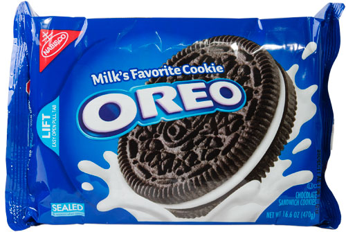 Oreos are listed as accidentally vegan food on Namely Marly
