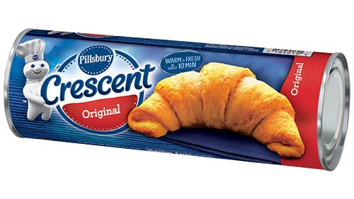 Pillsbury Crescent Rolls are listed as an accidentally vegan food on Namely Marly