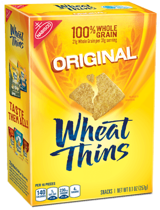 Wheat Thins Original are listed as accidentally vegan food on Namely Marly