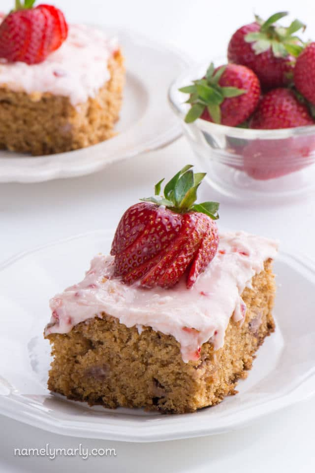 The Best Vegan Strawberry Cake Ever You Ll Want To Make This Dessert Recipe
