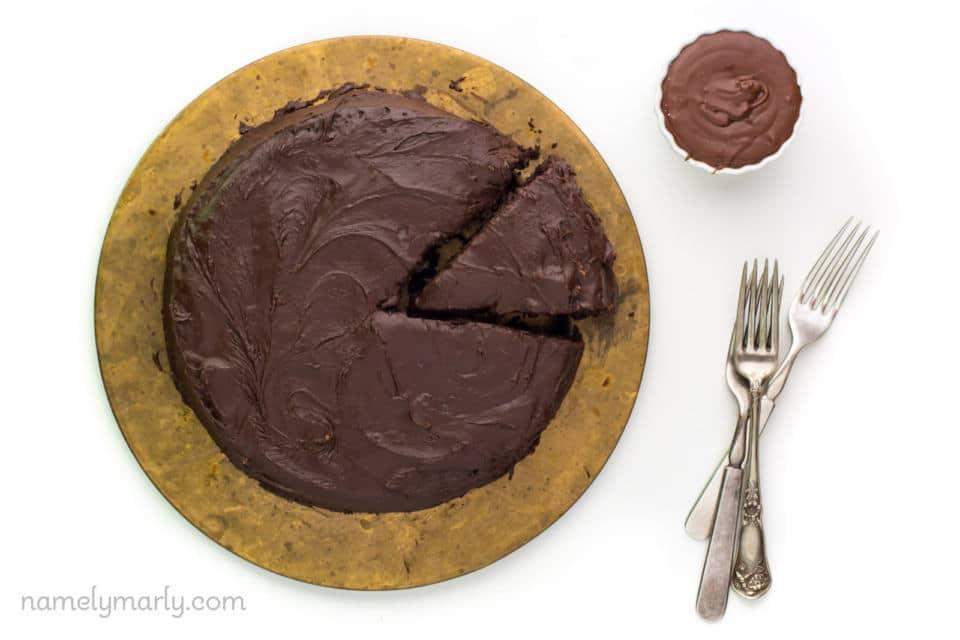 Vegan Chocolate Wacky Cake