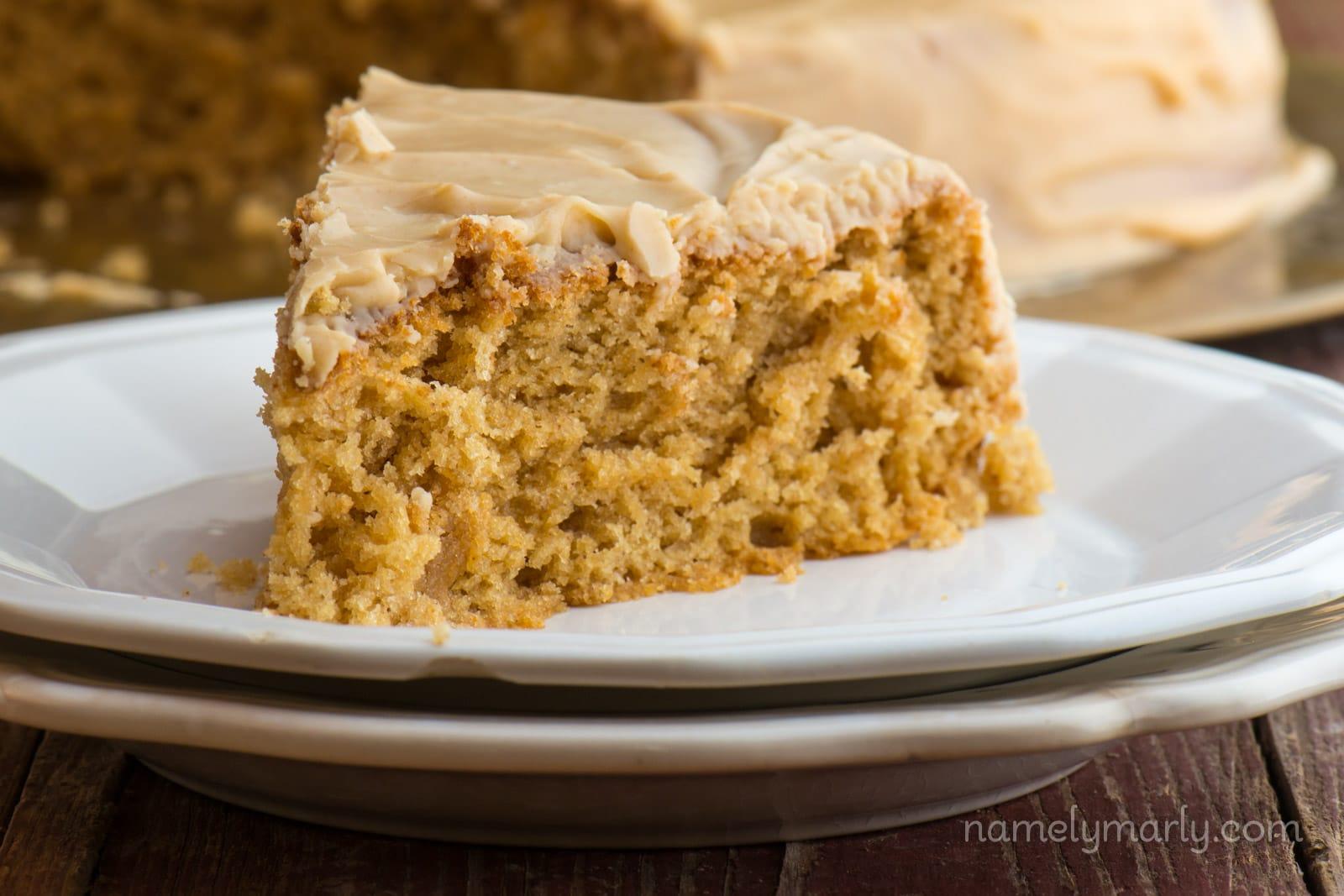 Vegan Peanut Butter Wacky Cake
