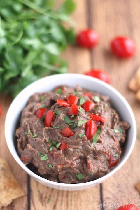 Vegan Black Bean Hummus