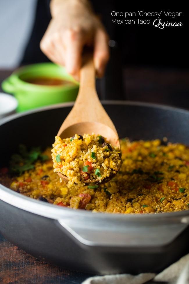 mexican quinoa for the 50 Best Vegan Cinco de Mayo Recipes post