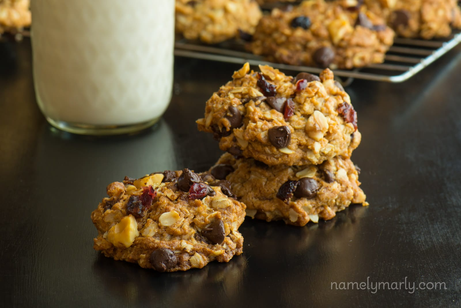... craisins), makes this one of the best vegan chocolate chip cookies