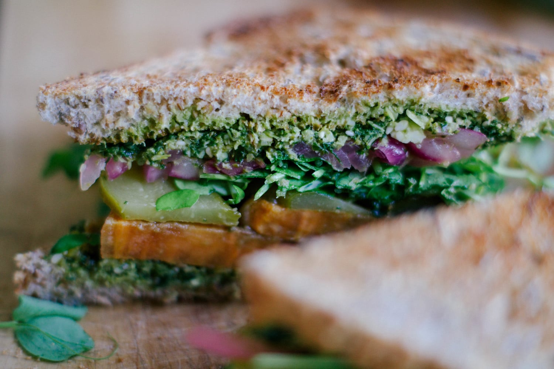 Big Ol' Veggie Sandwich