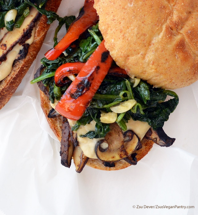 Classic Philly Roast Veggie Sandwich