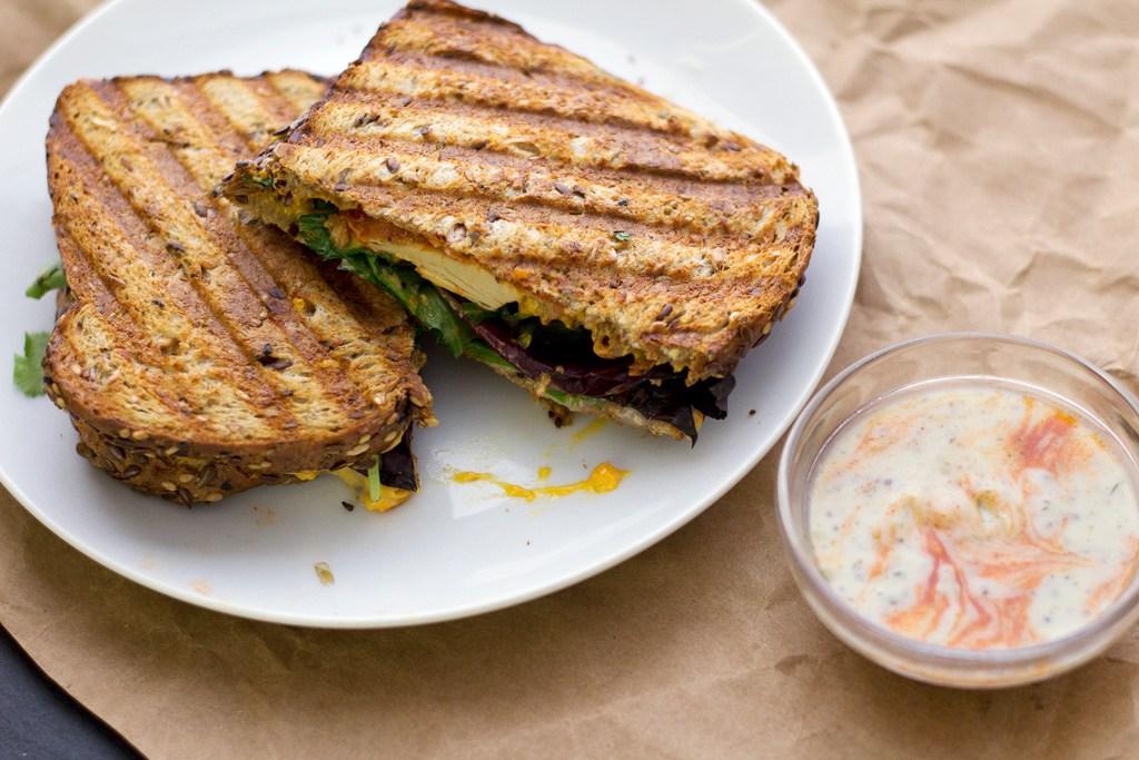 Vegan Buffalo Chicken Sandwich