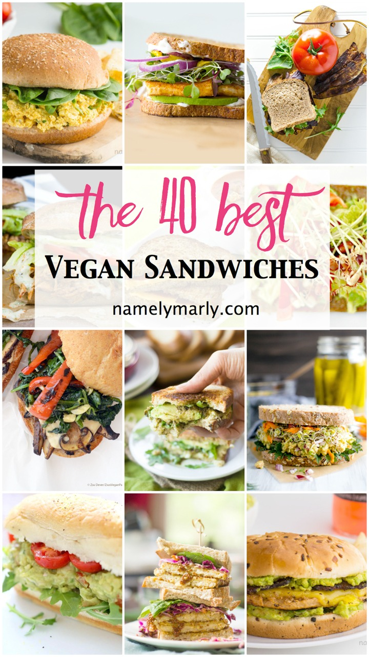 40 Best Vegan Sandwiches - Perfect for Easy Lunches - Namely