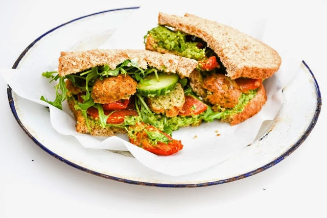 The Ultimate Vegan BLT Sandwich from Strength and Sunshine