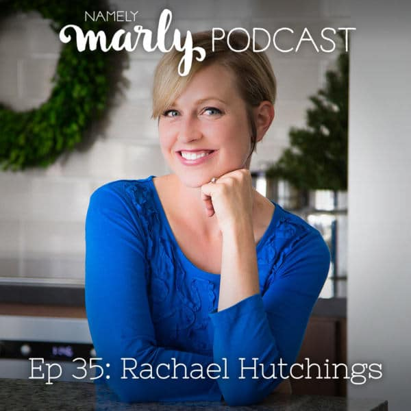 Rachael Hutchings is on the Namely Marly podcast