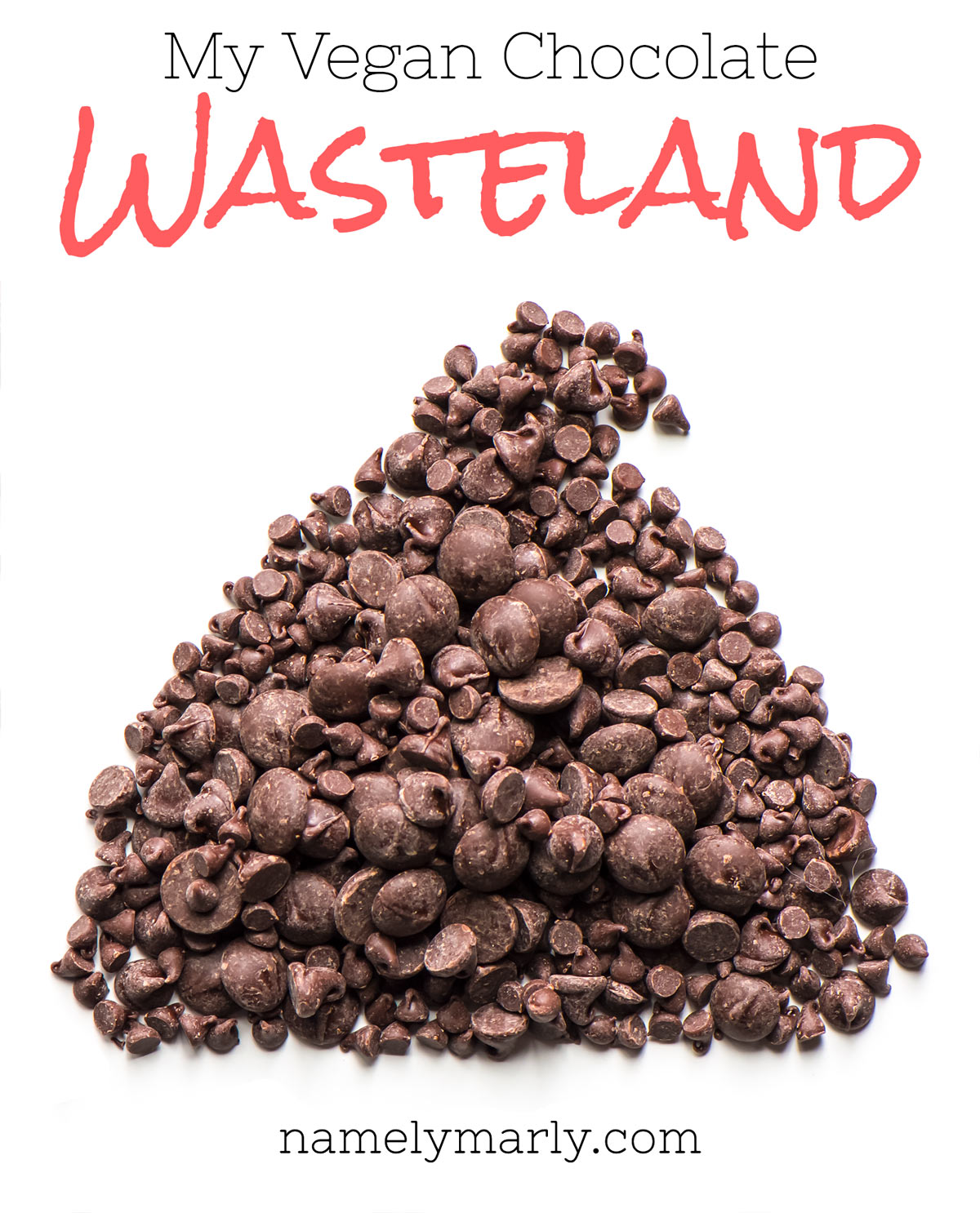 My Vegan Chocolate Wasteland - a tale of how I survived a thrived through a desert of vegan chocolate options!