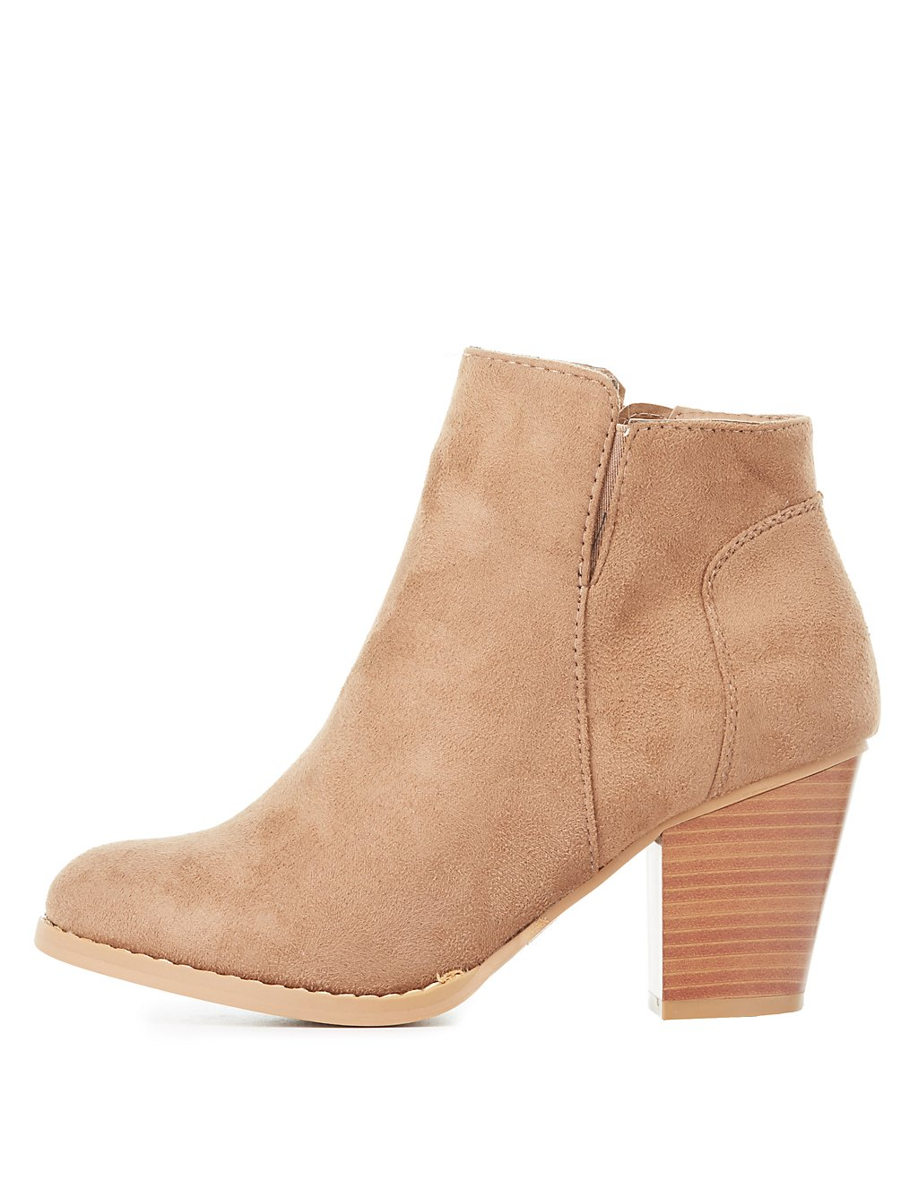 Faux Suede Boot from Charlotte Russe