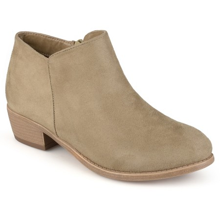 Target Faux Suede Heeled Bootie