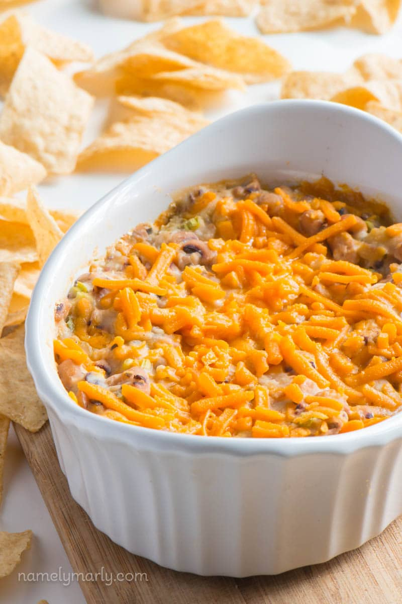 Easy Vegan Black-Eyed Pea Dip