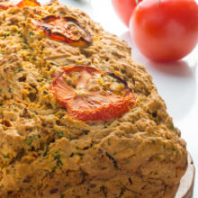 Vegan Savory Zucchini Bread. Create a delicious, Italian-inspired bread to serve with soups, salads, or just about any meal you choose. This quick bread is easy to make and a real crowd favorite!