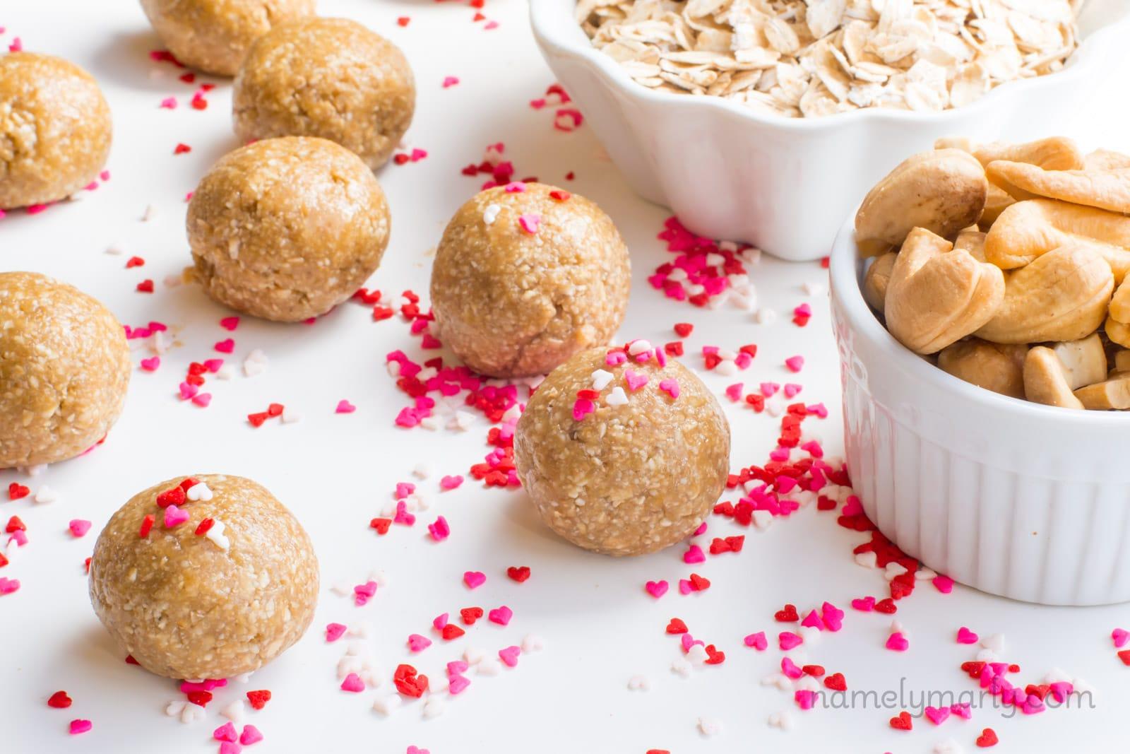 Sugar Cookie Energy Bites