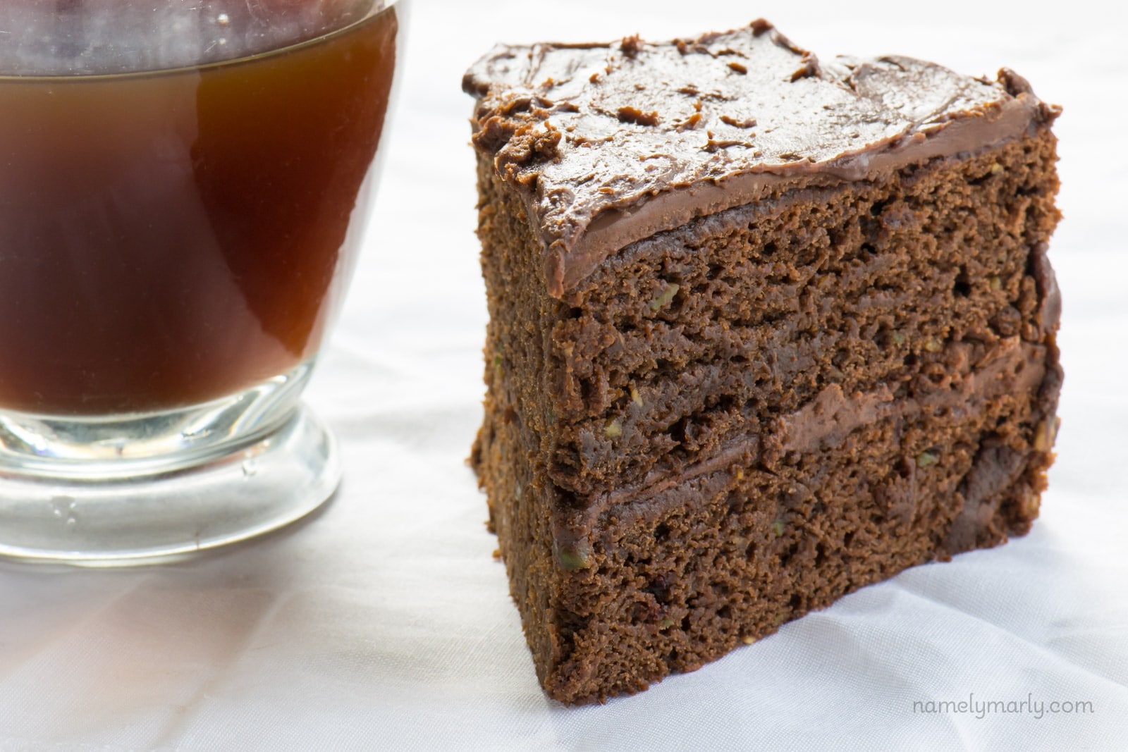 Vegan Chocolate Avocado Cake with Chocolate Frosting ...