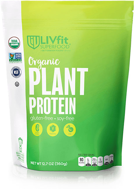 Better Body Foods LivFit Plant Protein Powder